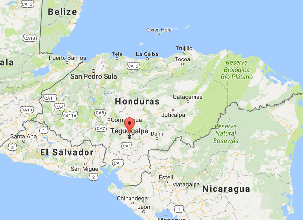 tegucigalpa-map